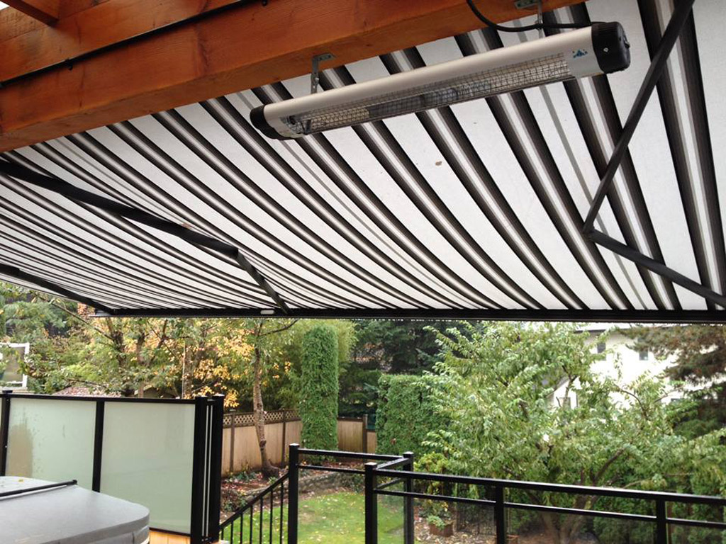 Heater and Awning