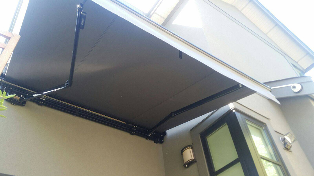 Small Custom Retractable Awning