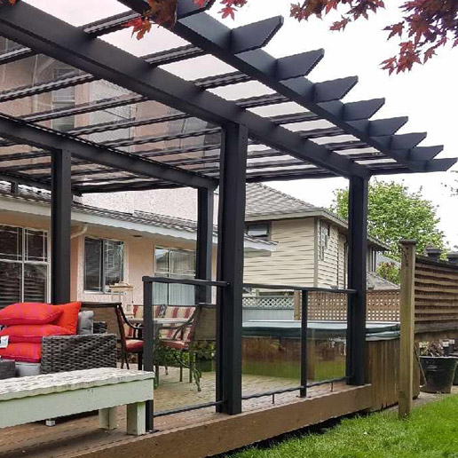 Deck Covers Amp Pergolas