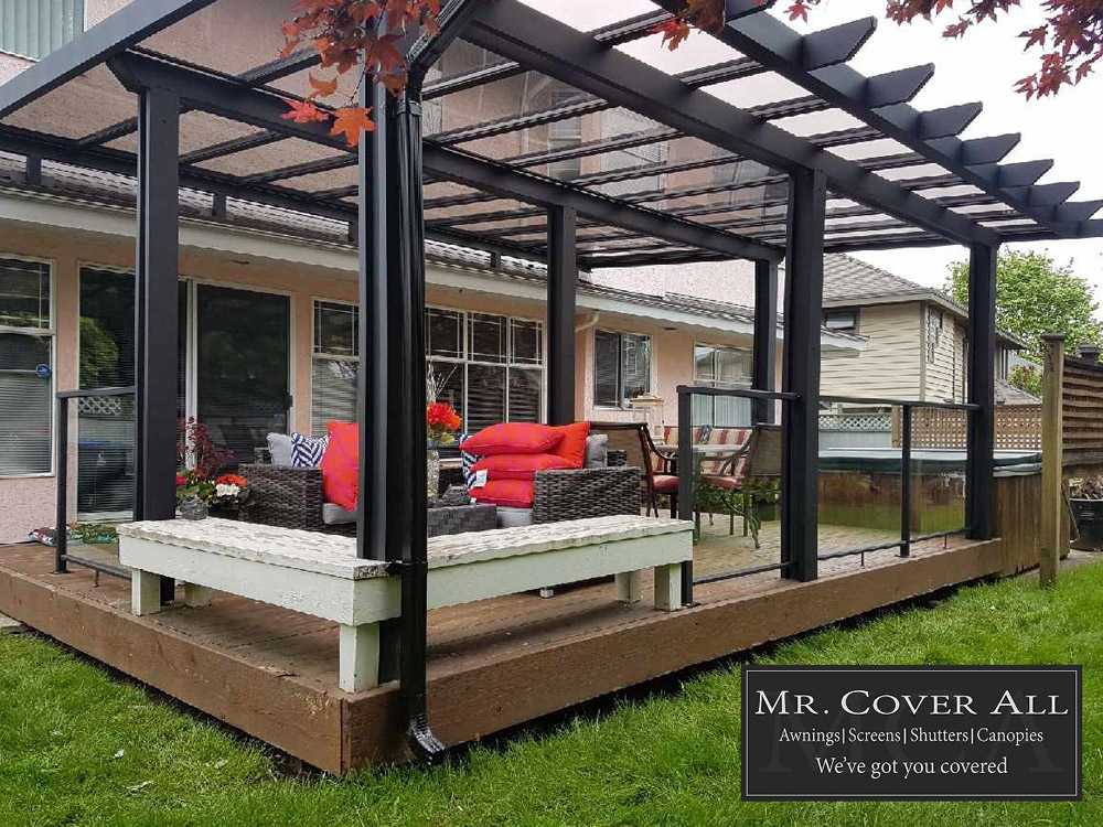 Mr. Cover All Only Uses the Highest Quality Deck Cover Materials to Ensure Your Satisfaction