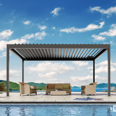 PAVILIONS & LOUVERED ROOF SYSTEMS