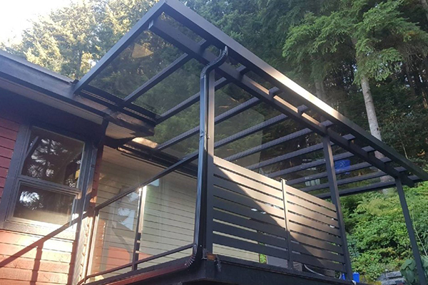 Consult Mr. Cover All in Vancouver If You Need a Glass Railing or Glass Deck Cover